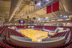 Raider Arena view from the upper level