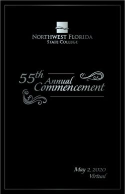 Commencement Cover 2020-21