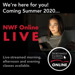 We're here for you! Coming Summer 2020... NWF Online LIVE! Live