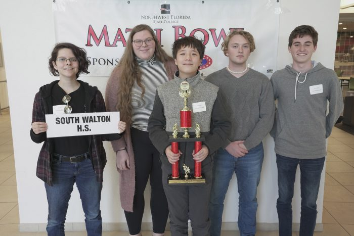 Northwest Florida State College Holds 33rd Annual Math Bowl