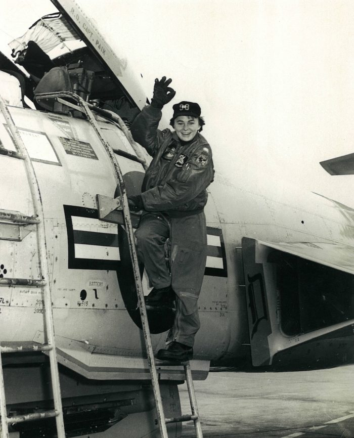 Dottie Blacker learned to fly while in the Lackland Air Force Base Aero Club in the 1960s.